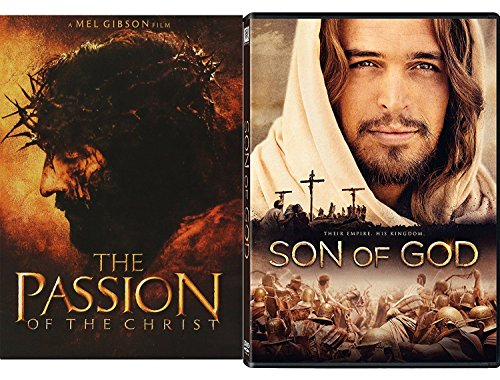 His Kingdom Collection - Son of God Jesus Film & Passion of the Christ 2-DVD Bundle by