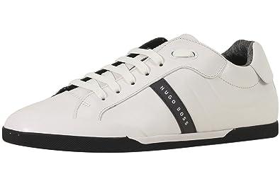 aa14b3a849 Amazon.com: Hugo Boss BOSS Green Men's Shuttle Tenn Leather Sneaker ...