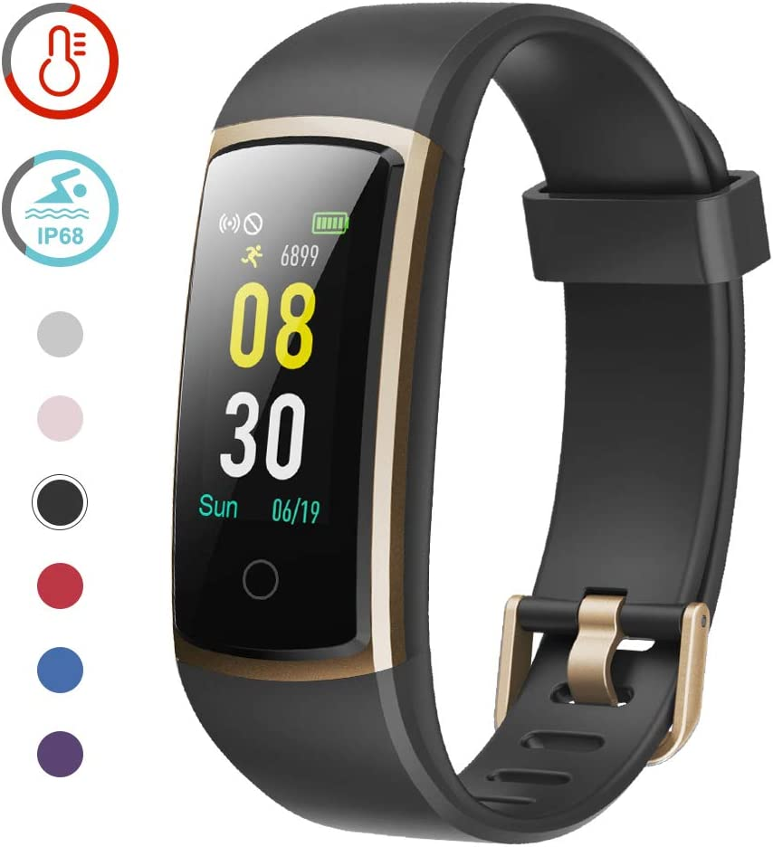 YAMAY Fitness Tracker with Blood Pressure Monitor