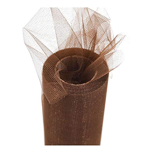 25 Yards 15 cm Tulle Roll Spool Tutu Wedding Decoration Baby Shower Organza DIY Crafts Birthday Party Supplies,C38,with Paper Board ()