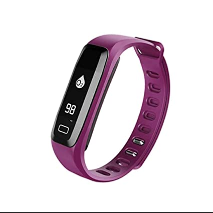 Fitness Tracker Pulsera Inteligente,Pulsera Reloj Inteligente con Control de Musica y Cámara,Podómetro