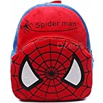 Kids School Bag Soft Plush Backpack Cartoon Toy, Children's Gifts Boy Girl/Baby/ Decor School Bag for Kids (Spiderman)