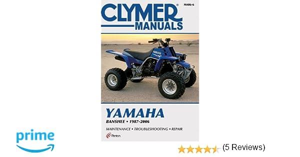 Yamaha banshee 1987 2006 motorcycle repair penton staff yamaha banshee 1987 2006 motorcycle repair penton staff 9781599690841 amazon books fandeluxe Choice Image