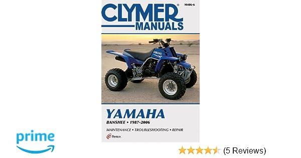yamaha banshee 1987 2006 motorcycle repair penton staff rh amazon com yamaha banshee service manual download yamaha banshee service manual pdf free