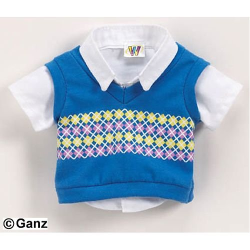 - Webkinz Clothing - Smart Sweater Vest