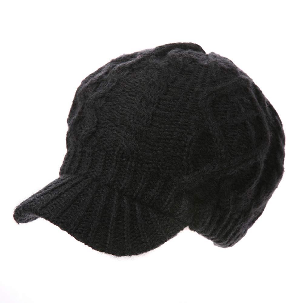 Hat-Female Autumn and Winter Korean Casual Wild Student Beret Wool Warm Knit Cap Warm Skin Comfort