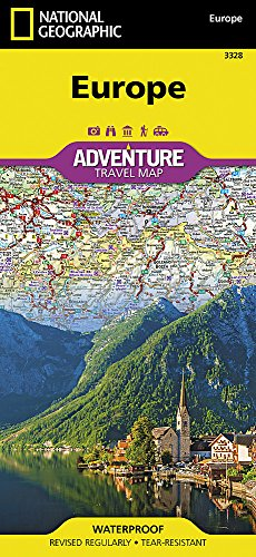 Europe  National Geographic Adventure Map