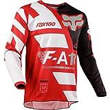 Fox Racing 180 Sayak Kids Off-Road Jersey - Red/Medium