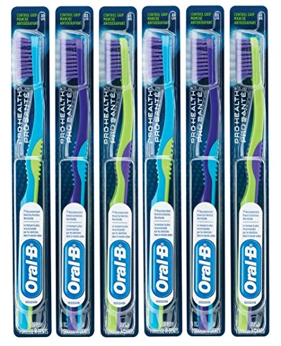 - Oral-B Pro-Health Control Grip Toothbrush for Pre-Teens & Teenagers, 35 Ultra Soft, Pack of 6