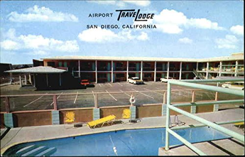 Airport Trave Lodge, 2353 Pacific Hwy San Diego, California Original (Lodge Airport)