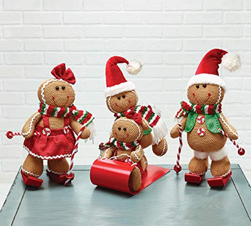 (Christmas - Gingerbread Snow Fun Day Skiing And Sledding)