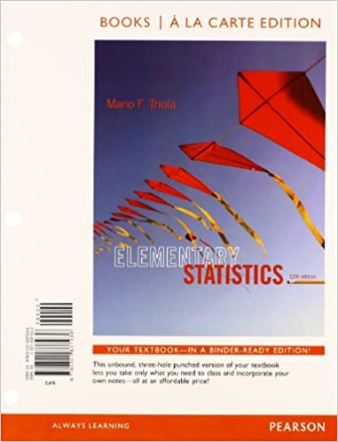 Amazon com: Elementary statistics + mystatlab with pearson etext