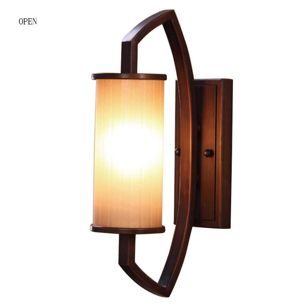 Chuiqingwang 錬鉄製の壁ランプリビングルームの背景壁ランプ寝室のベッドサイドランプバスルームミラーヘッドライト壁ランプ B07S68ZJN7