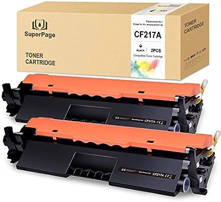 Superpage Compatible HP CF217A 17A Cartuchos de Toner [con Chip ...