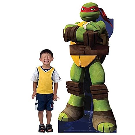 Amazon.com: 7 ft. TMNT Teenage Mutant Ninja Turtles Raphael ...