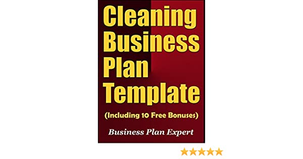 Amazon Cleaning Business Plan Template Including 10 Free
