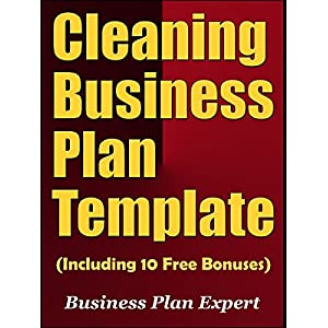Cleaning Business Plan Template