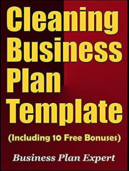 amazoncom cleaning business plan template including 10