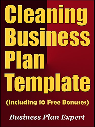 Amazon cleaning business plan template including 10 free cleaning business plan template including 10 free bonuses by business plan expert cheaphphosting Gallery