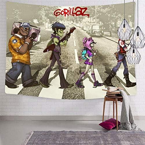 Apkesl G-orill-az Tapestry Wall Hanging Bedding for Bedroom Living Room Dorm Home Decor Blanket