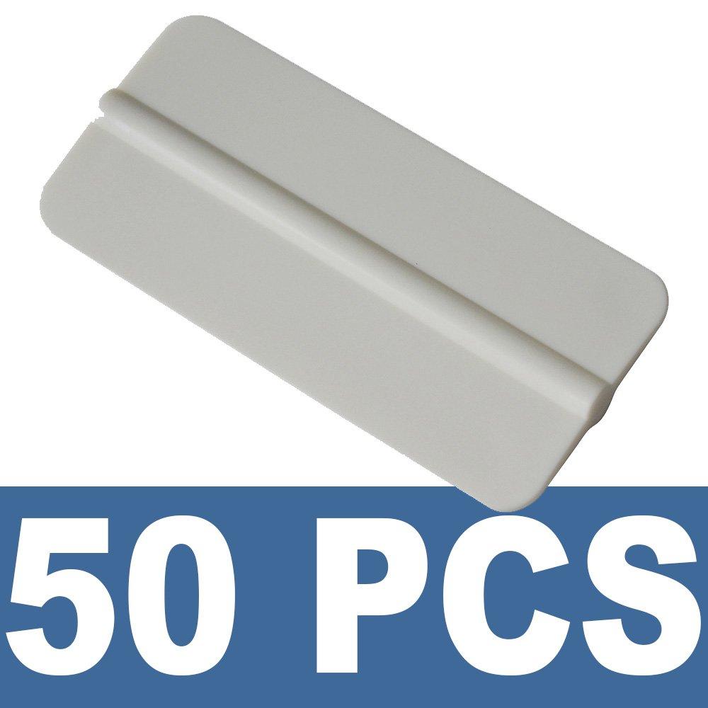 Ehdis® 10PCS morbido vinile avvolgere Strumento Mini Finestra Pellicole Installazione seccatoio della pellicola del vinile Applicatore raschietto per vinile avvolge e decalcomanie con tessuto in feltro nero