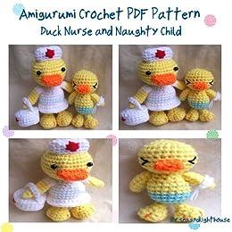 Nurse Duck Amigurumi Crochet Pattern - Kindle edition by ...