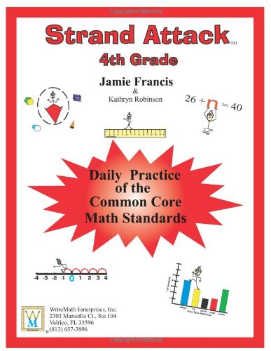 4th Grade Common Core Math - Daily Math Practice Worksheets ...