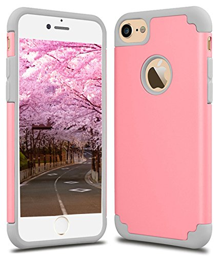 CaseHQ iPhone 6S plus Case,iPhone 6 plus Case,slim Dual Layer Silicone Rubber PC Protective Case Fit for iPhone 6 (2014) / 6S 5.5 inch (2015) Hybrid Hard Back Cover and - Wetsuit Discount