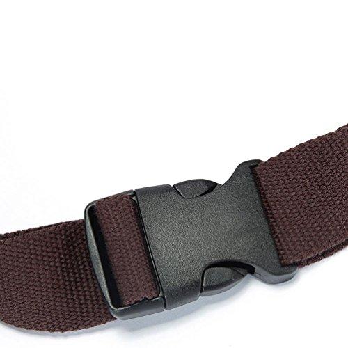 Chang Spent retro bolsa de deporte ocasionales bolsa de mensajero del bolso de la cintura de la moda de las mujeres , brown