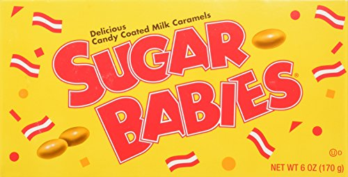 Sugar Babies Candy Coated Milk Caramels, 6 OZ (Pack of 12) by Sugar Babies