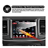 2014-2018 Dodge Durango Uconnect Touch Screen Car Display Navigation Screen Protector, RUIYA HD Clear TEMPERED GLASS Car In-Dash Screen Protective Film (8.4 Inch)