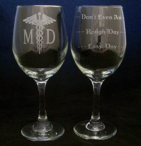 Amazon Doctor MD Wine Glass