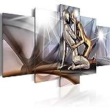 Bilder 200x100 cm - XXL Format - Fertig Aufgespannt - TOP - Vlies Leinwand - 5 Teilig - Wand Bild - Kunstdruck - Wandbild - Figuren Gestalten h-A-0019-b-m 200x100 cm B&D XXL