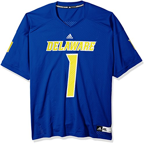 - adidas NCAA Delaware Blue Hens Adult Men NCAA Replica Football Jersey, Medium, Collegiate Royal