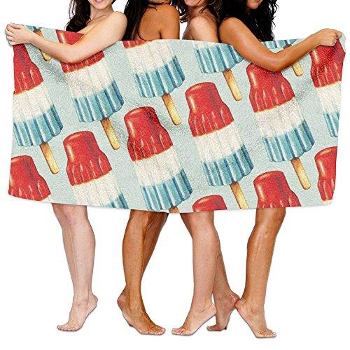 DAWENBI Bomb Pop Popsicle Adult Soft Microfiber Printed Beach Towel for Swimming,surf,Gym,spa 80cm130cm]()