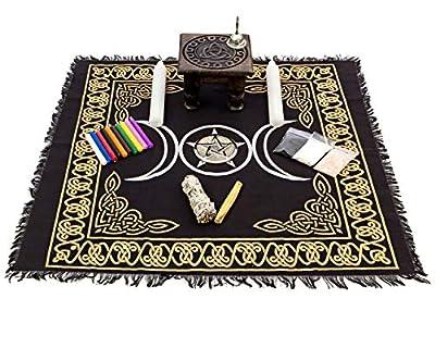 Alternative Imagination Wiccan Altar Supply Kit, Brand (Renewed)