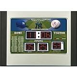 Team Sports America MLB New York Yankees Scoreboard Desk Clock