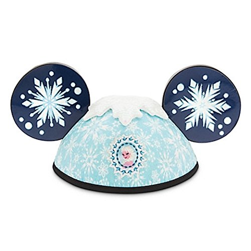 Disney Parks Frozen Elsa Anna 2 Side Mickey Mouse Ears Hat Adult (Frozen Elsa And Anna Costumes Adults)