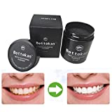 iLH Carbon Coco Teeth Whitening Powder,ZYooh 45g Natural Organic Activated Charcoal Bamboo Toothpaste Powder Effective Removes Tooth Stains (Plastic Box)