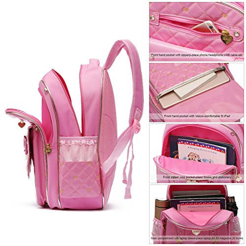 Princess Ali Bookbag Black School Elementary Victory Backpack Series Pink for Doll Schoolgirls Barbie Adorable rrYqB6