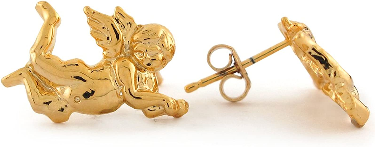 Finding USA Made. Solid Brass Cherub and Wings Stamping