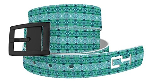 Abstract Belt Buckle (C4 Belts Abstract Diamonds Classic Belt with Black)