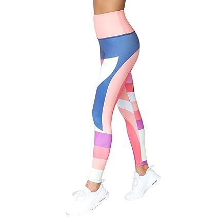Amazon.com: Pantalones de geometría para mujer con estampado ...
