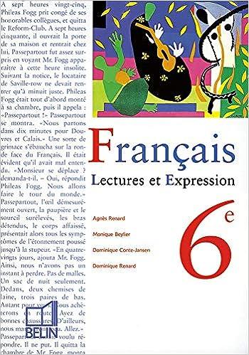 Amazon Fr Francais 6e Lecture Et Expression Livre De L