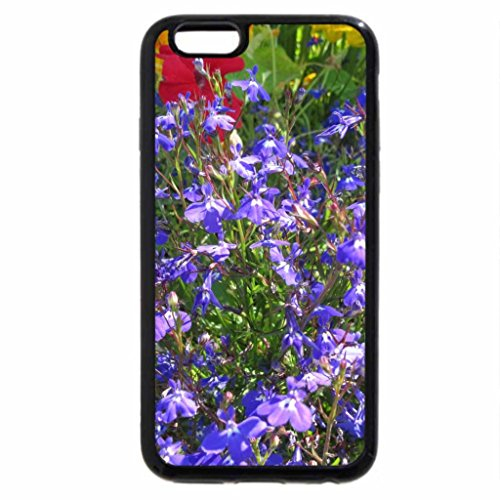 iPhone 6S / iPhone 6 Case (Black) Blue flowers in my garden
