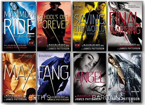 - Maximum Ride Series Collection - Forever, Angel Experiment, School's Out, Saving The World, Final Warning, Max, Fang, Angel