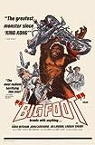 Bigfoot Movie Poster Print