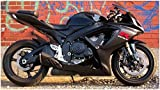Gloss Matte Black Complete Fairing Bodywork Aftermarket Painted ABS plastic Injection Molding Kit for 2006-2007 Suzuki GSXR GSX-R 600 750