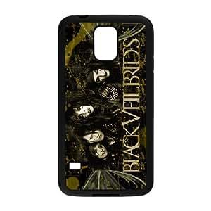 Samsung Galaxy S5 Phone Case for BVB Classic theme Black Veil Brides pattern design GQCTBKVBS777595