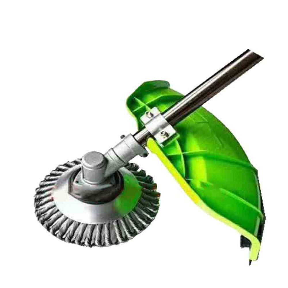 AutimaticUS Professional Knotted Wire Weed Grass Cutter Power Steel Cutting Sweeper Brushes Trimmer Head for Brushcutter Attachment